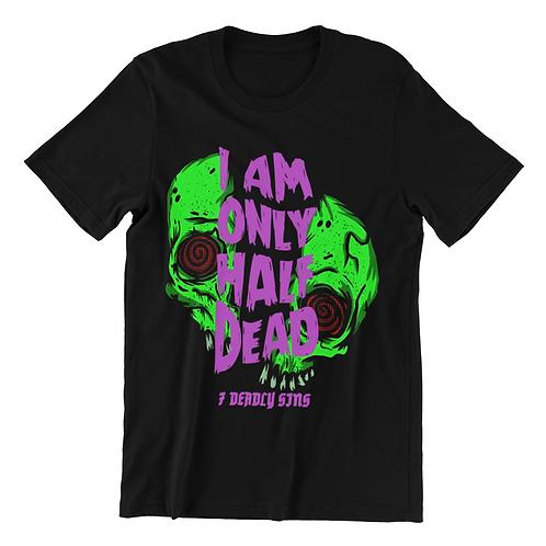 Half Dead Tattoo T-shirt