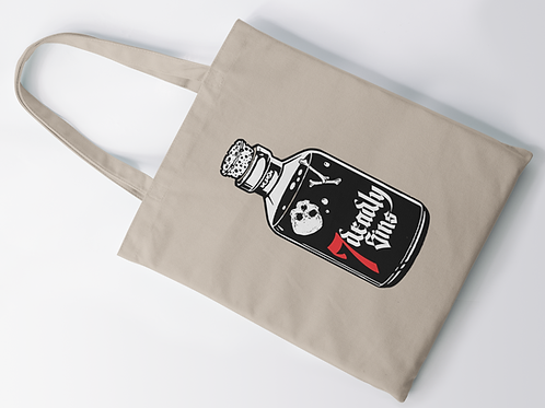 Poison Bottle Tote Bag