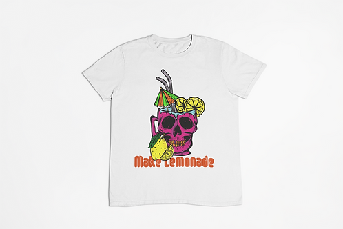 Make Lemonade White Unisex T-shirt