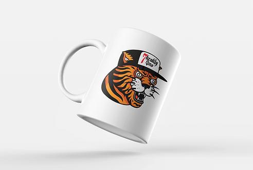 Tiger Hat Print Mug
