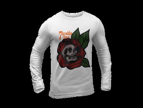 Death Petal Long Sleeve T-shirt