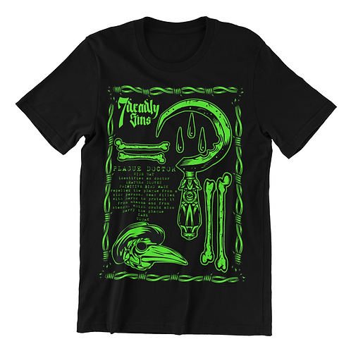 Plague Doctor Skater T-shirt