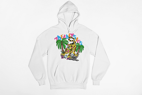 Jungle Cat Tattoo Streetwear Hoodie