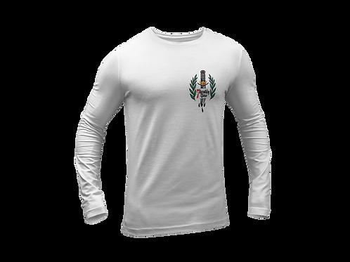 Dagger Tattoo Pocket Print Long Sleeve T-shirt