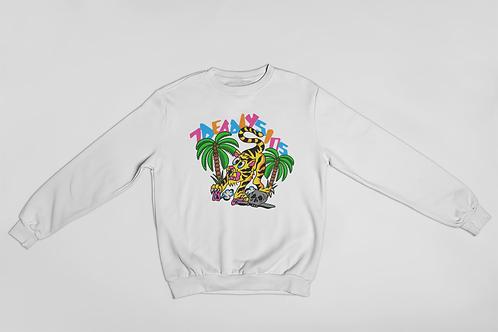Jungle Cat Tattoo Inspired Sweater