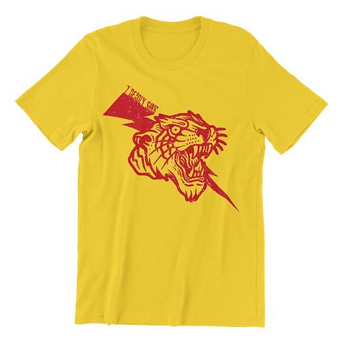 Retro Tiger Tattoo T-shirt
