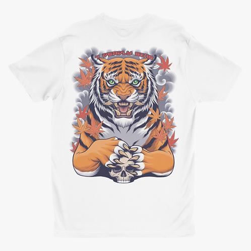 Japanese Tiger Tattoo Inspired Alternative Streetwear T-shirt