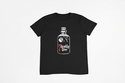 Poison Bottle Tattoo T-shirt
