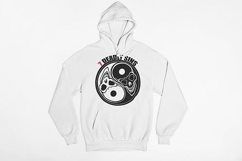 Yin & Yang Skull Hoodie