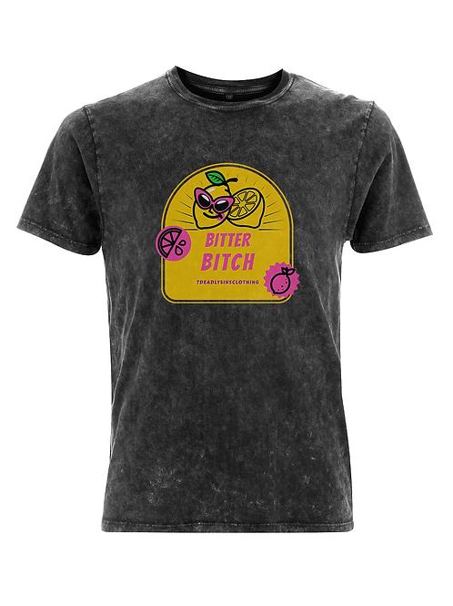Vintage Bitter Bitch Alternative Streetwear T-shirt