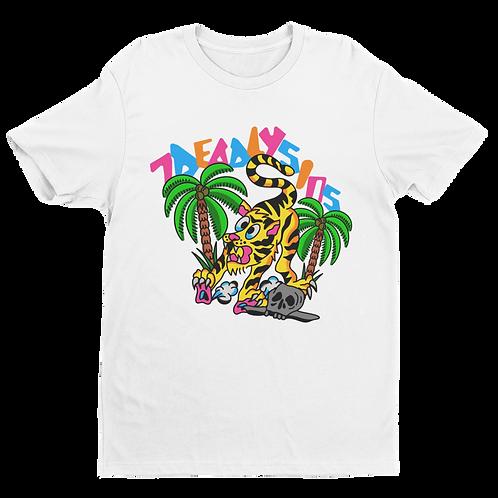 Jungle Cat Tattoo Inspired T-shirt