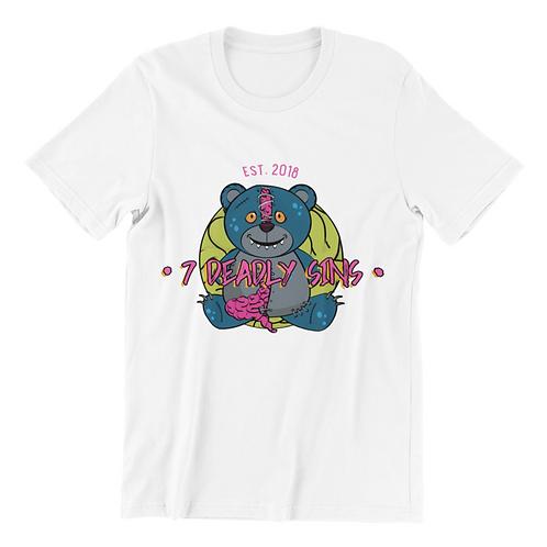 Zombie Teddy Streetwear T-shirt