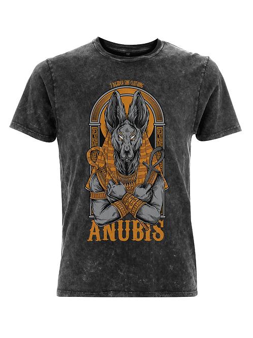 Vintage Anubis Tattoo Streetwear T-shirt