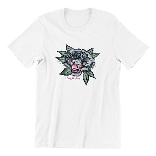 Tiger Rose Tattoo T-shirt