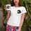 Panther Print White T-shirt