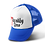 Blue Trucker Hat with 7 Deadly Sins Logo