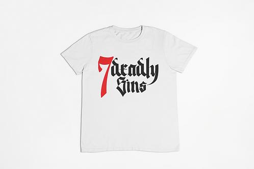 Logo White Streetwear T-shirt