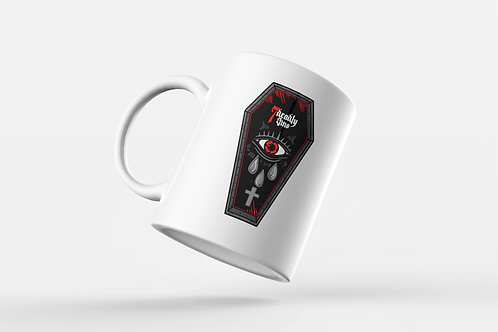 Coffin Tattoo Mug