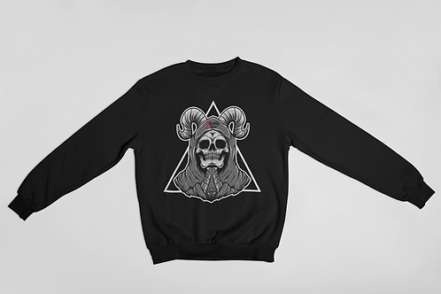 Praying Skull Sweater