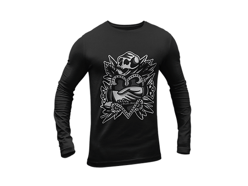 Deal With Death Long Sleeve T-shirt