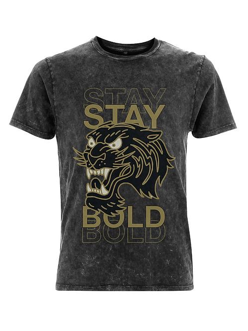 Vintage Stay Bold Tattoo Streetwear T-shirt