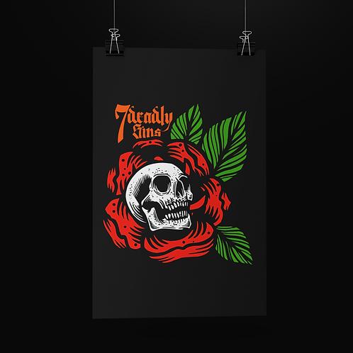 Death Petal Print