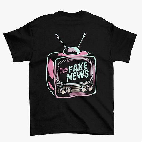 Fake News Streetwear T-shirt