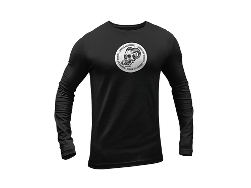 Sinners Are Winners Black Long Sleeve T-shirt