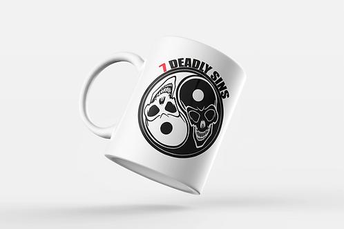Ying & Yang Skulls Mug