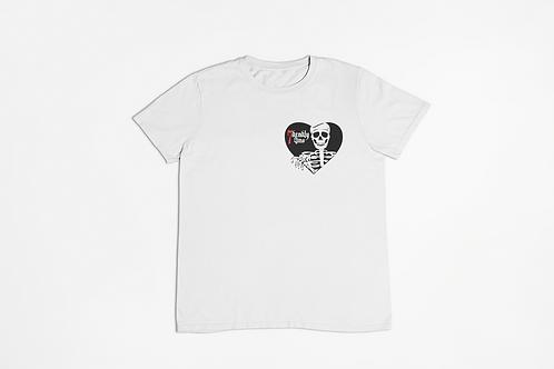 Skeleton Heart Tattoo T-Shirt