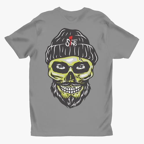 Sailor Skull Tattoo Inspired Alternative Streetwear T-shirt
