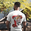 7 Deadly Cigs White T-shirt by 7 Deadly Sins Clothing front & back print