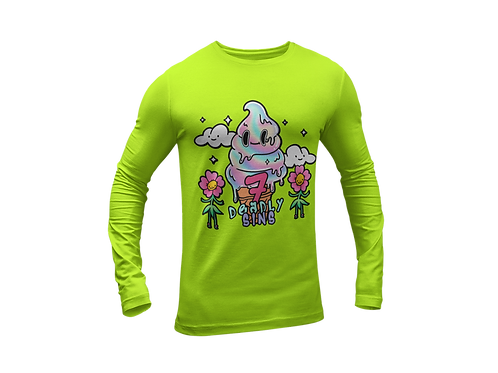 Ice Cream Alternative Streetwear Long Sleeve T-shirt