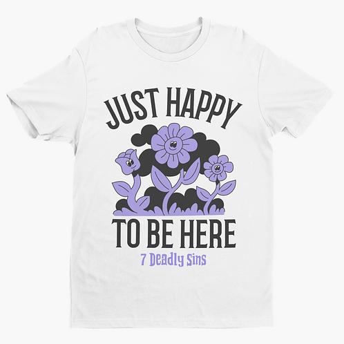 Happy To Be Here Alternative Streetwear T-shirt