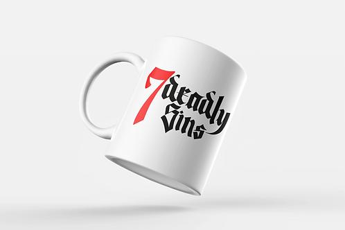 7 Deadly Sins Logo Mug