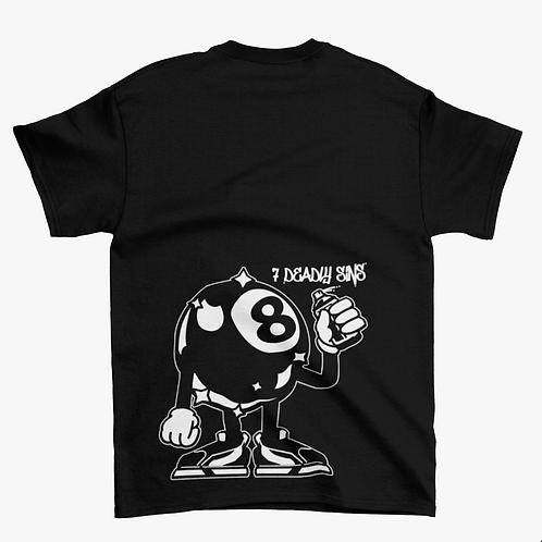 Magic 8 Ball Graffiti Streetwear T-shirt