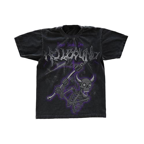 Vintage Hellbound Alternative Streetwear T-shirt