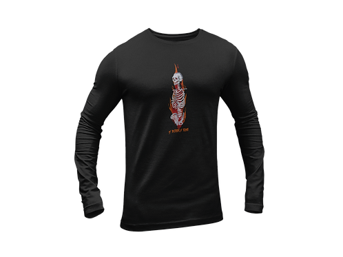 Lit Bones Long Sleeve T-shirt
