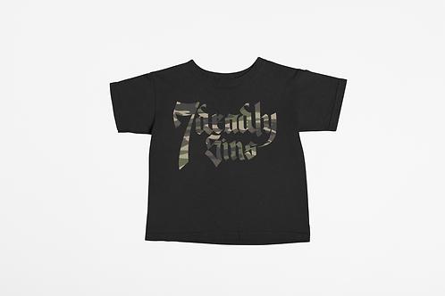 Camo Logo Kids T-shirt