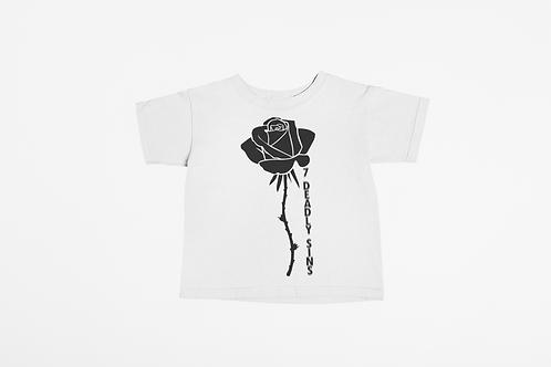 Black Rose Tattoo Kids T-shirt