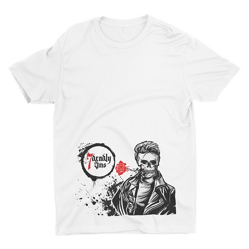 Greaser Boy Tattoo T-shirt
