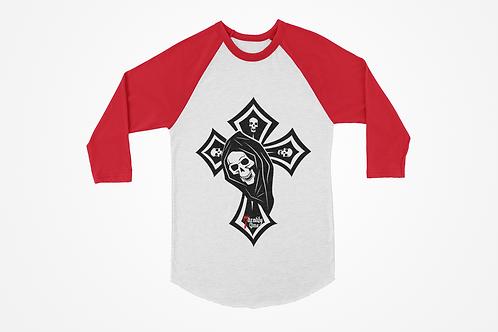 Skull Cross Raglan
