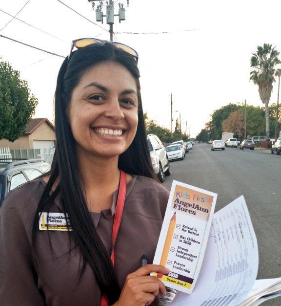 Trustee AngelAnn Flores