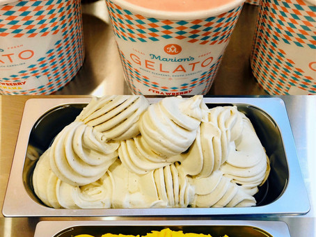 Marion's Gelato is now available for delivery