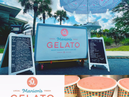 Visit Marion's Gelato at the Rivertowne Country Club!