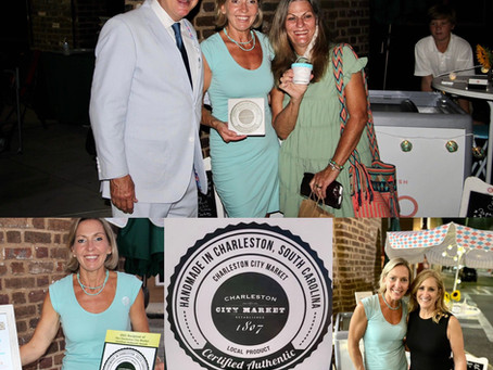 Certified Authentic Handmade in Charleston, SC Award for Marion's Gelato!