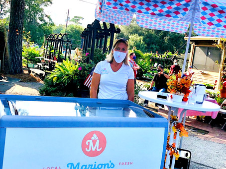 Visit Marion's Gelato today at the Market at Mercantile!