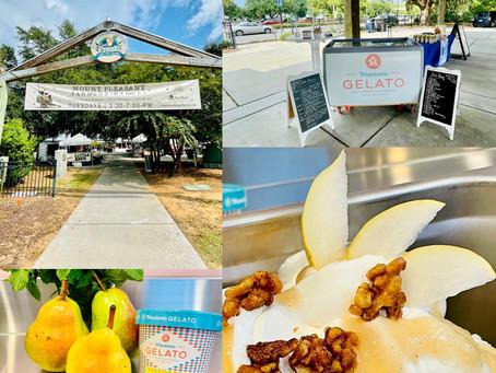 Marion's Gelato new Honeyed Pear & Walnuts flavor!