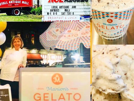 Stop by to try Marion's Gelato