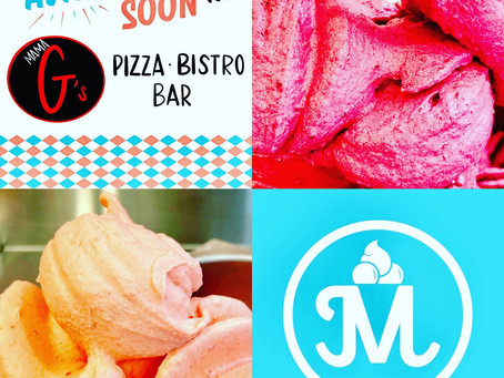 Marion's Gelato will be available at Mama G's Pizza, Bistro & Bar!